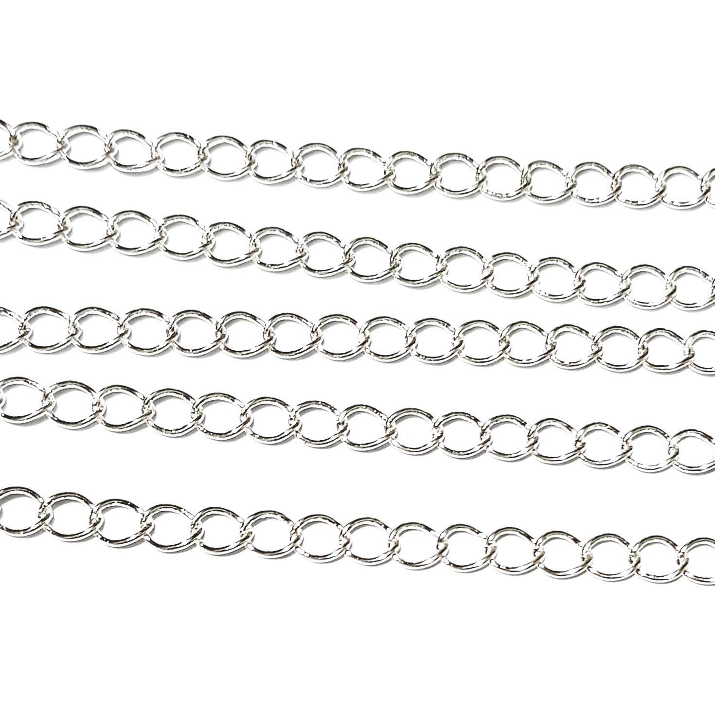 954be8d9be0b Hardware para bisutería - Cadena para collar (por metro)